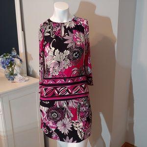 Womens 2P 2petite 3/4 sleeve Donna Morgan dress